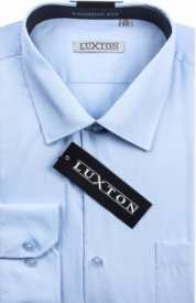 Luxton Men's Classic Fashion Fit Dress Shirt Various Colors available