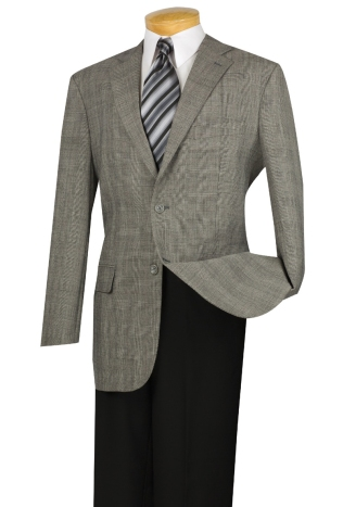 100% Super wool, Single breasted 2 buttons, sport coat with elbow patch, side vents. $99.99 each or two for $179.99.
