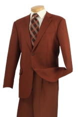 100% Super Wool, Single breasted 2 buttons tweed sport coat with center vent.