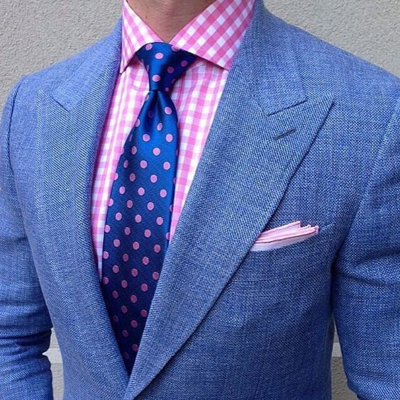 cropped-mens-blue-tweed-suit-with-pink-checked-button-down-shirt-and-blue-pink-polka-dot-tie-min.jpg